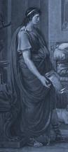 Virgile lisant l'Énéïde devant Auguste et Livie (Palais des Beaux-Arts de Lille).