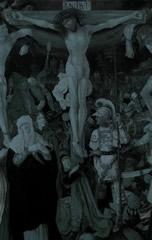 Crucifixion à la cathédrale de Konstanz. Peint par Christoph Bockstorfer (?) en 1524