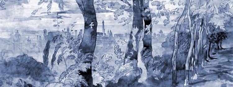 Vue de Bologne, John Ruskin (1819–1900)