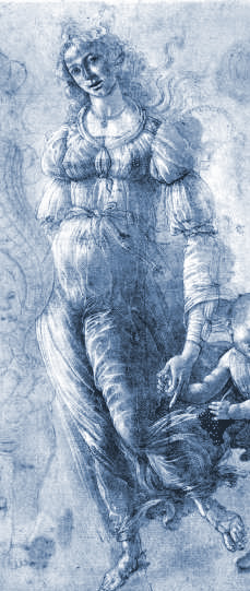 Étude - Abondance, Botticelli (1444/45-1510)