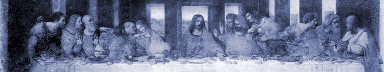 La dernière Cène, Léonard de Vinci (1452-1519)