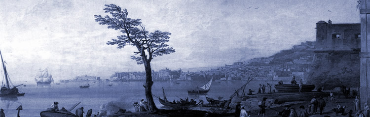 Vue de Naples, Claude Joseph Vernet (1714–1789)