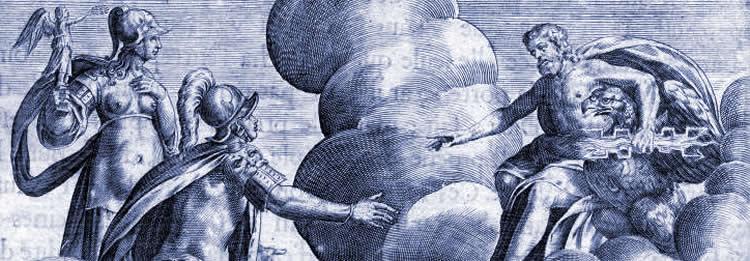 Apothéose de Romulus, Michel Faulte, 17e siècle