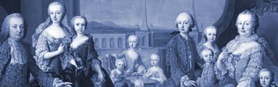 Famille impériale, 1754