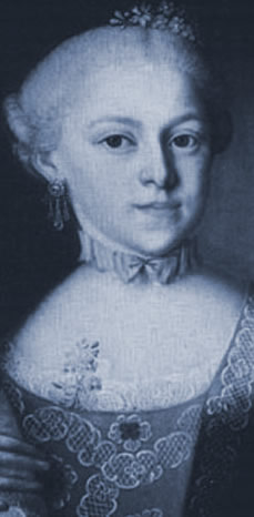 Maria-Anna Mozart (1751-1829) en 1762