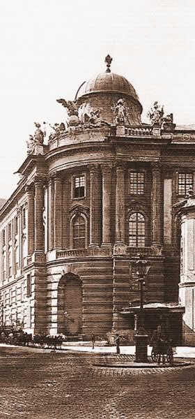 Le Burgtheater de Vienne