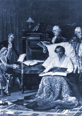 Mozart chante son Requiem